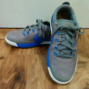EUC Nike Golf Shoes MEN'S SIZE 7 Lunarlon Gray